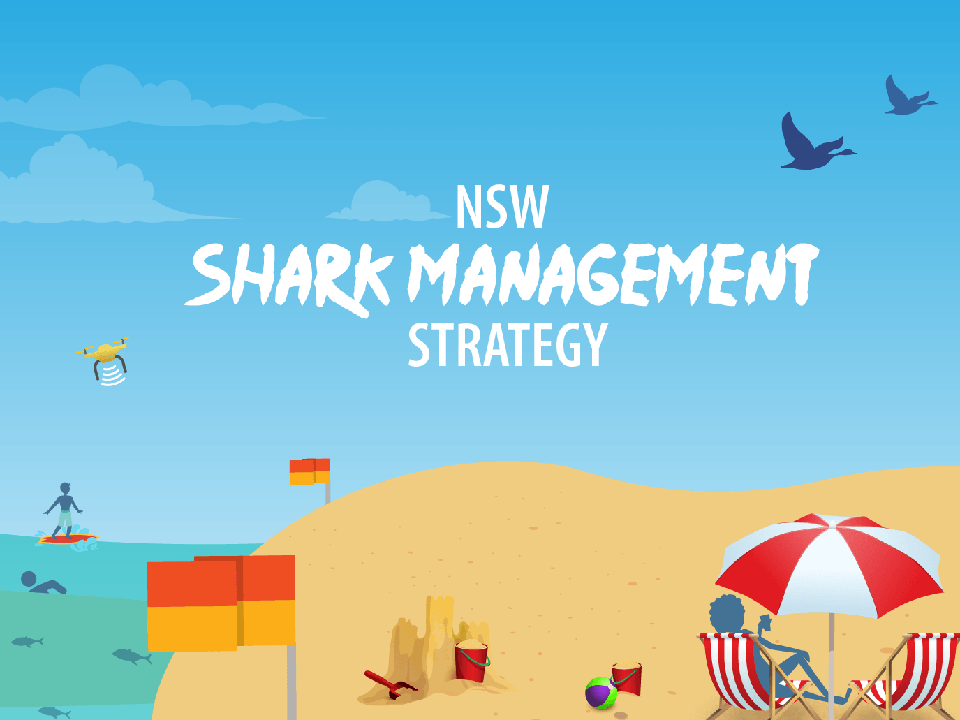 Shark strategy illustration
